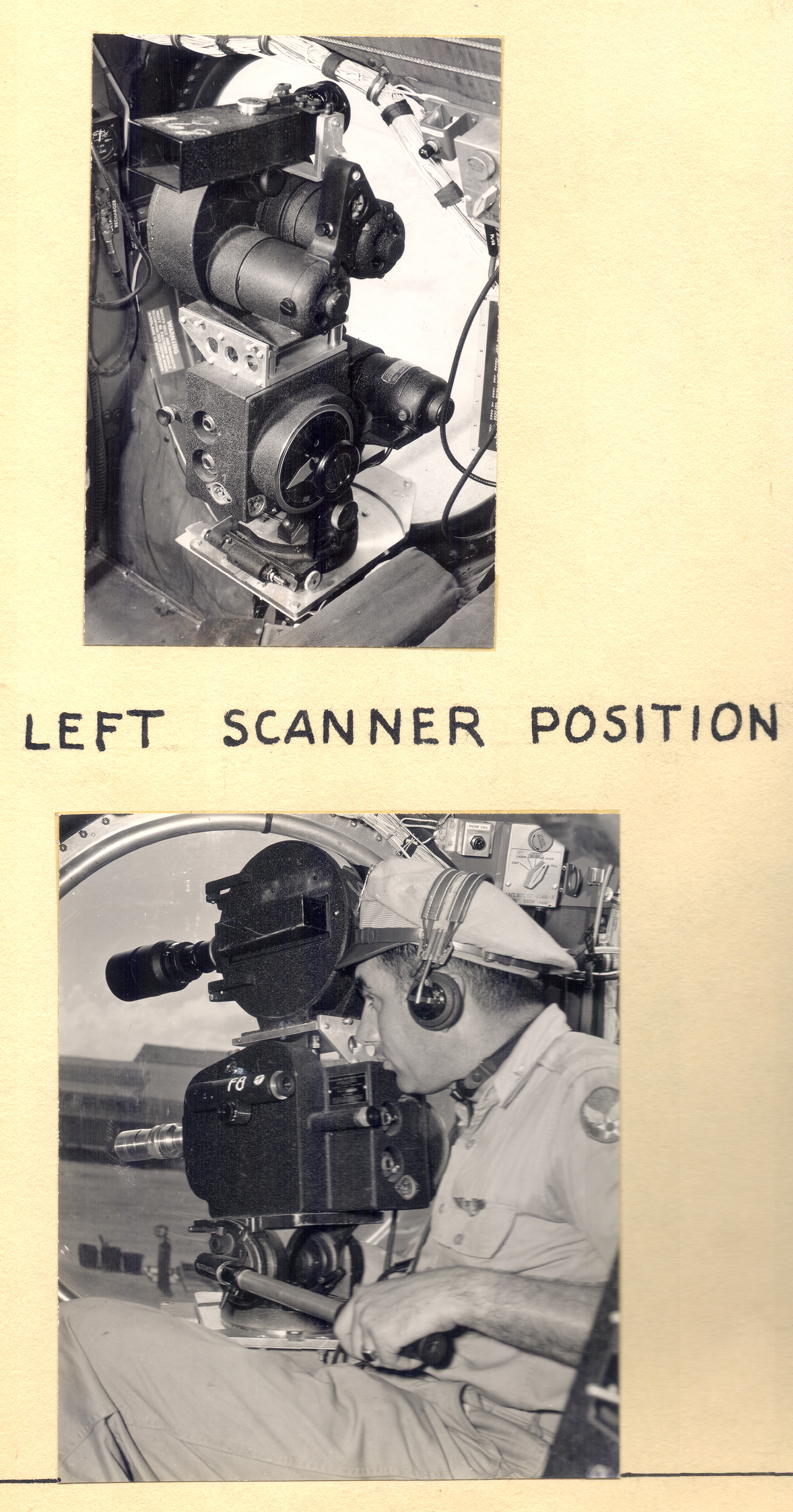 Cameras Used in the Left Position, 1945-1946