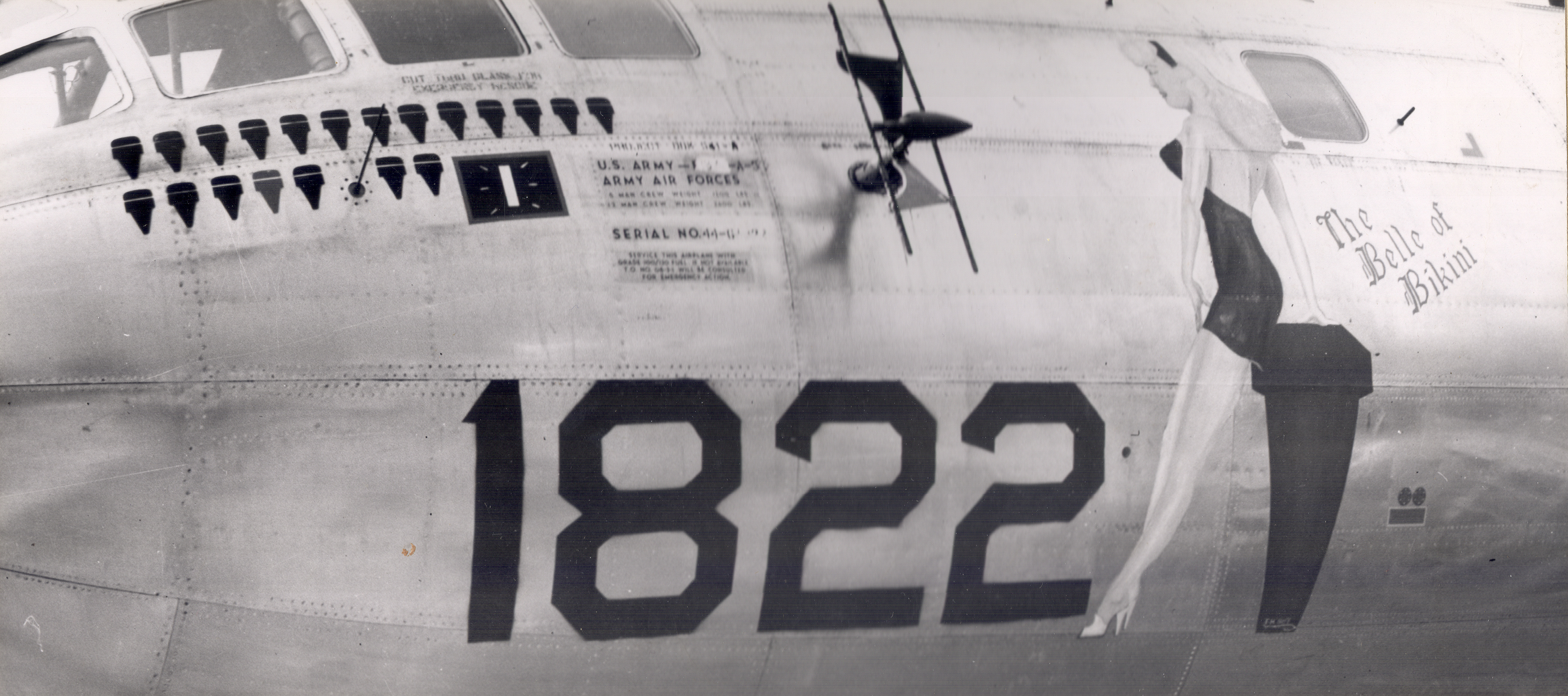 The Belle of Bikini, Airplane Nose Art, 1945-1946