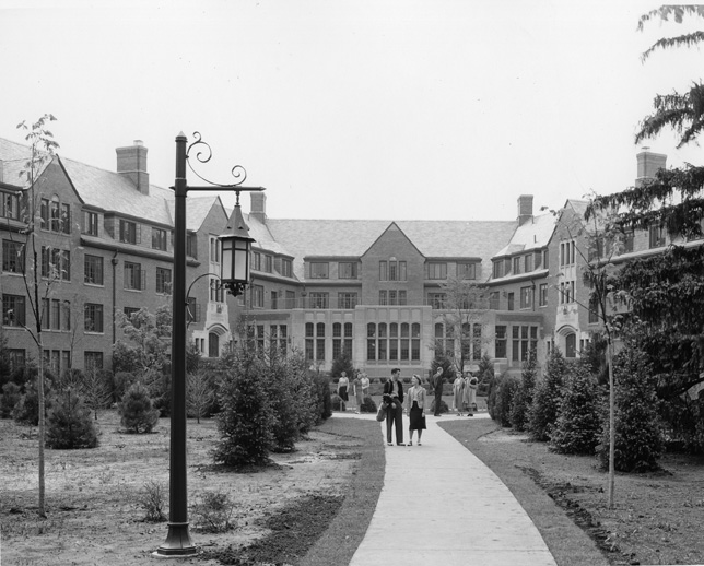 Williams Hall Exterior, 1940