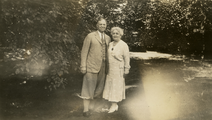 Albert and Sarah Case, 1932