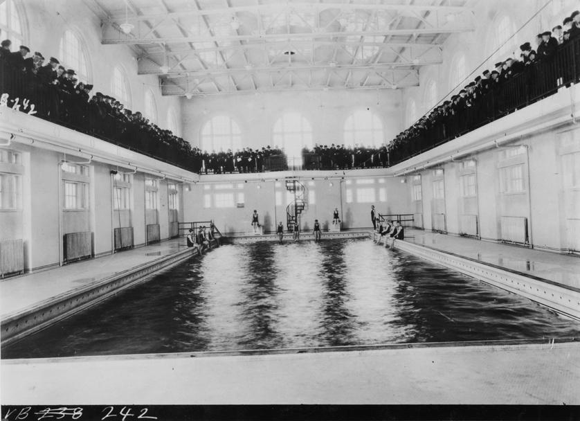 Women in a Swimming Pool, circa 1920