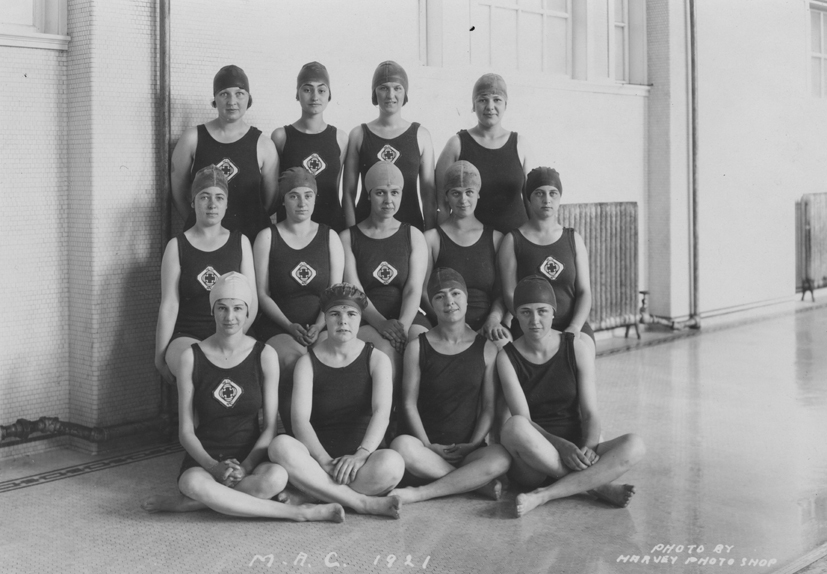 Female Swimmers, 1921