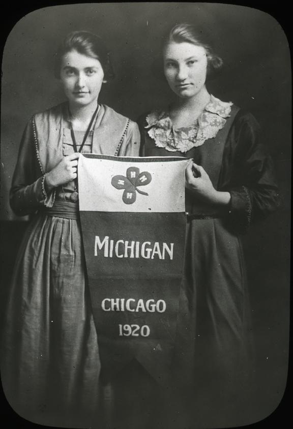 4-H Club Representatives in Chicago