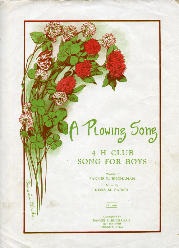 """""""A Plowing Song"""" Cover"""