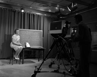 C.C.T.V. program filming, 1961