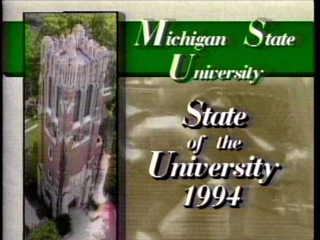 State of the University Address, 1994