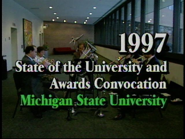 State of the University Address, 1997