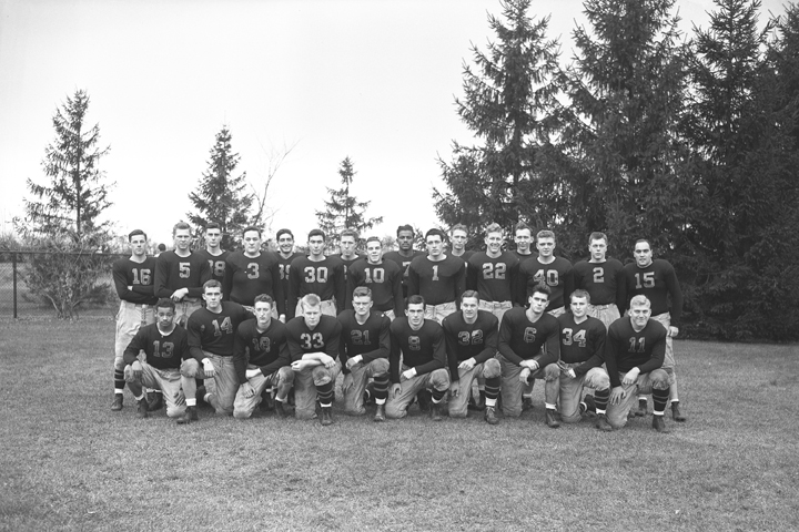 Off Campus Engineers Football team, November 6, 1943
