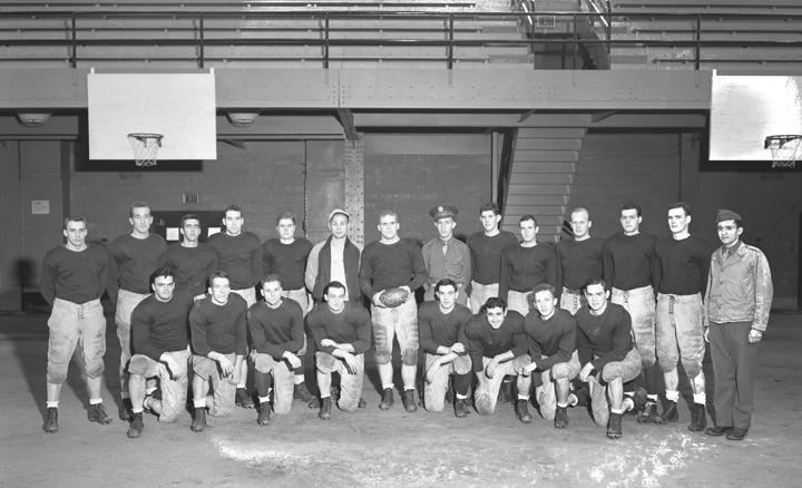 R.O.T.C. Football Team, November 6, 1943