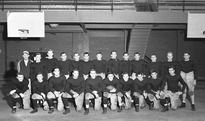 Civilian Football Team, November 6, 1943