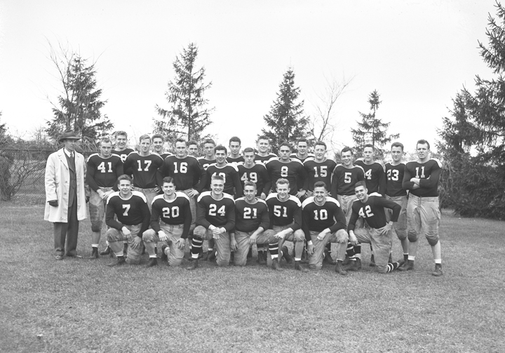 On Campus Engineers Football Team, November 6, 1943