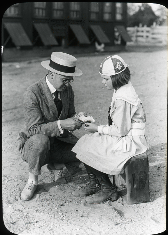 4-H Leader and Club Member, undated