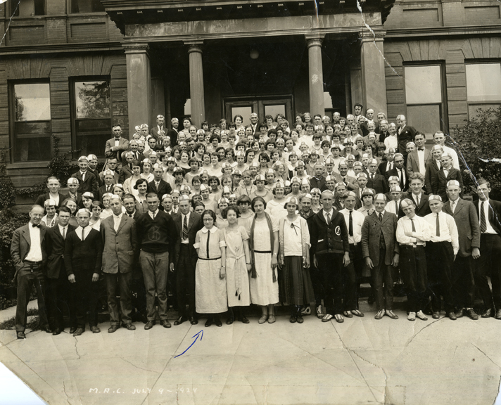 1924 State 4-H Club Meeting at M.A.C.