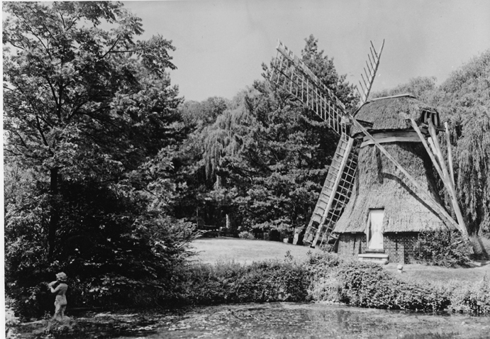 Kellogg Biological Station Windmill, undated