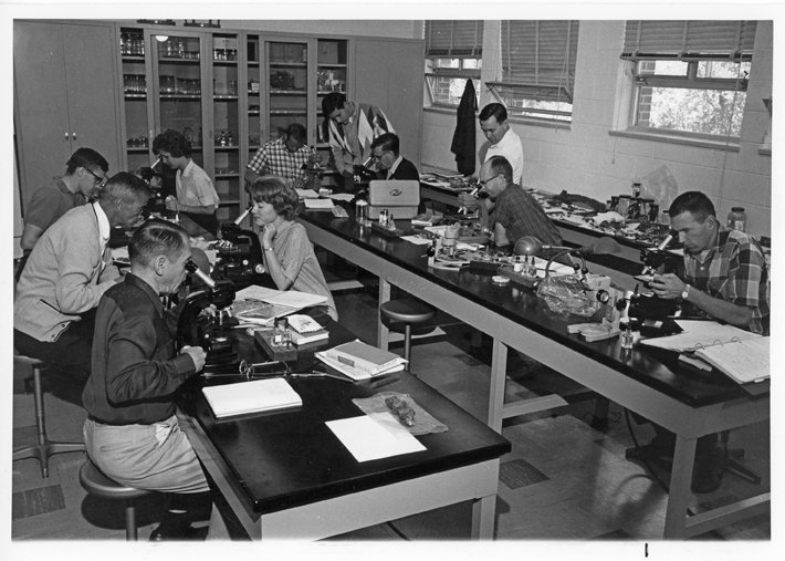 Kellogg Biological Station Students, undated