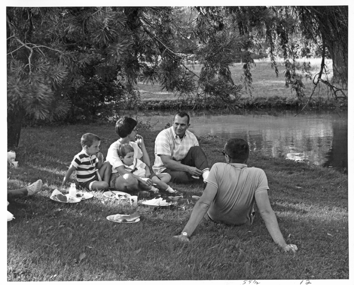 Kellogg Biological Station Picnic at Lagoon, undated
