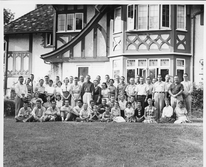 Kellogg Biological Station Class Photo, 1956
