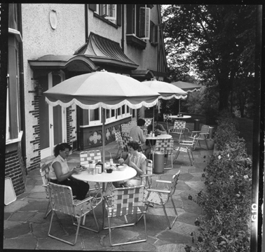 Kellogg Biological Station Manor House Patio, 1959