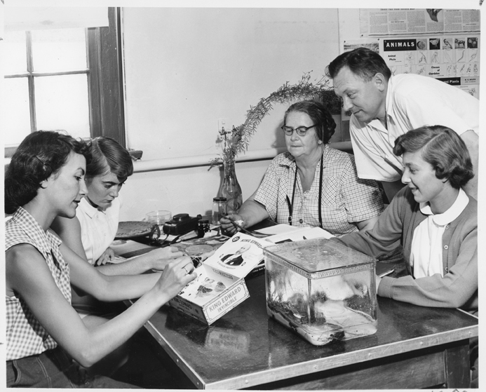 Kellogg Biological Station Students, 1959