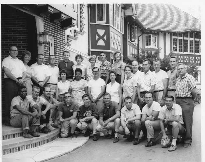 Kellogg Biological Station - Invertebrate Zoology Group Photo, 1964