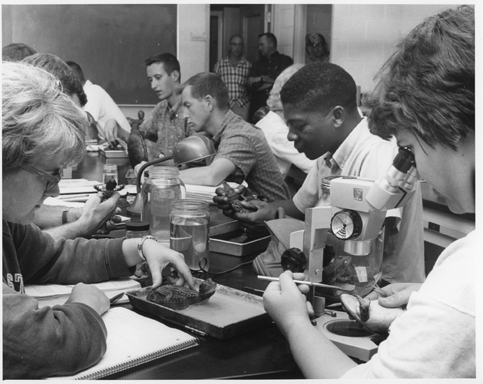 Kellogg Biological Station - Herpetology Class, 1964