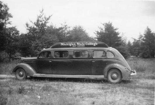 Michigan State College Traveling Vehicle, 1940