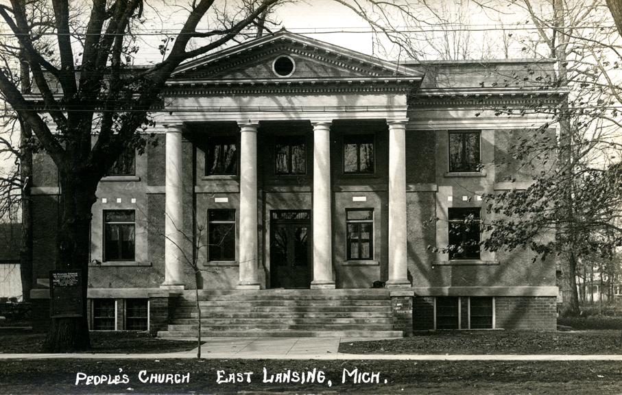 People's Church, East Lansing, Michigan, circa 1912-1916