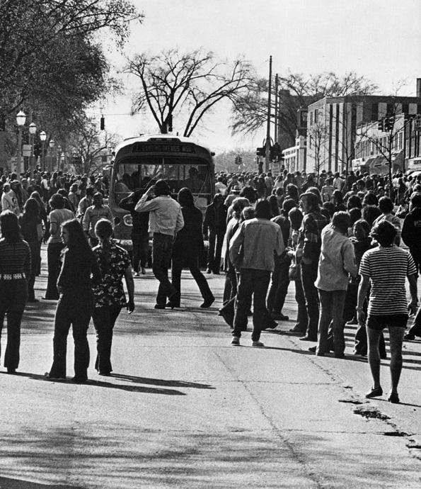 Students Occupy Grand River Avenue, 1972