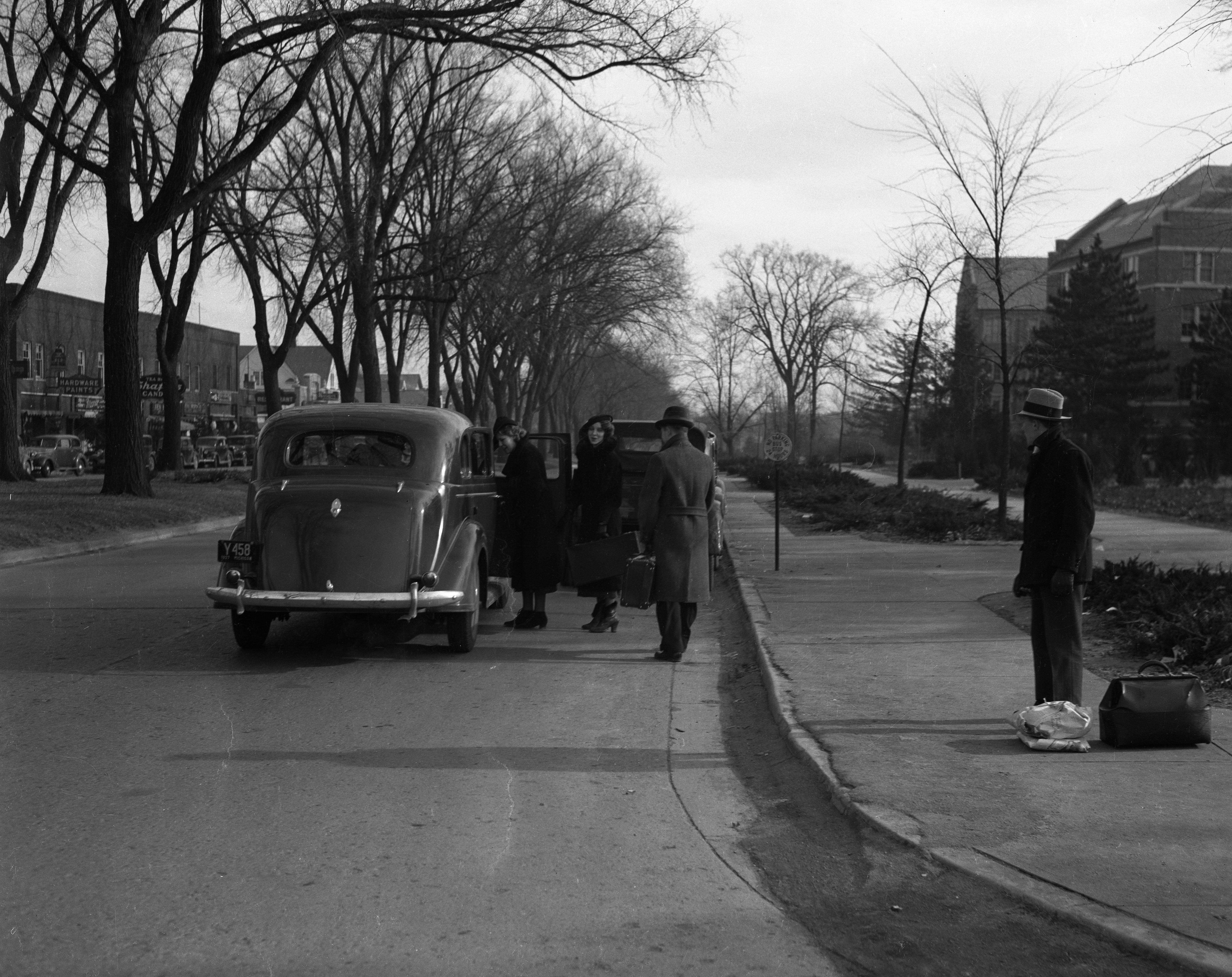 Grand River Avenue, circa 1937