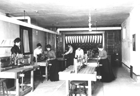 Woodworking Class, undated