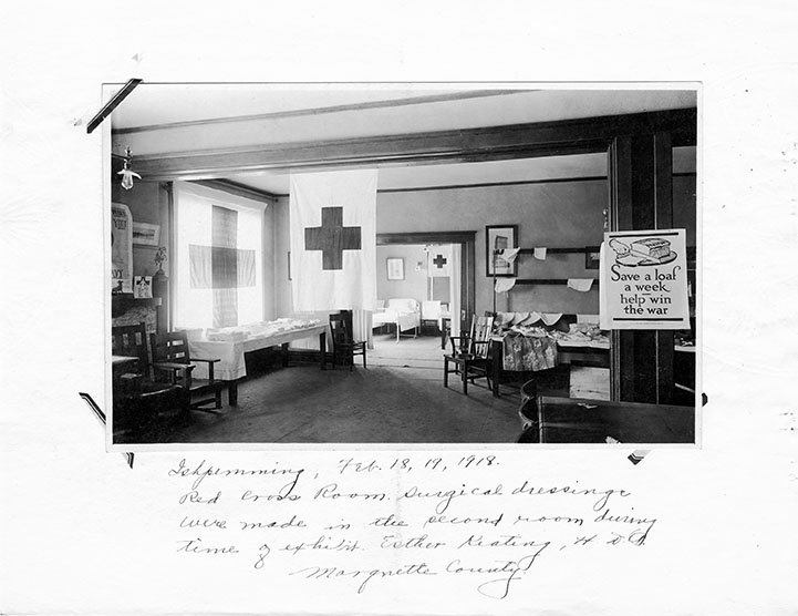 World War I Red Cross Room