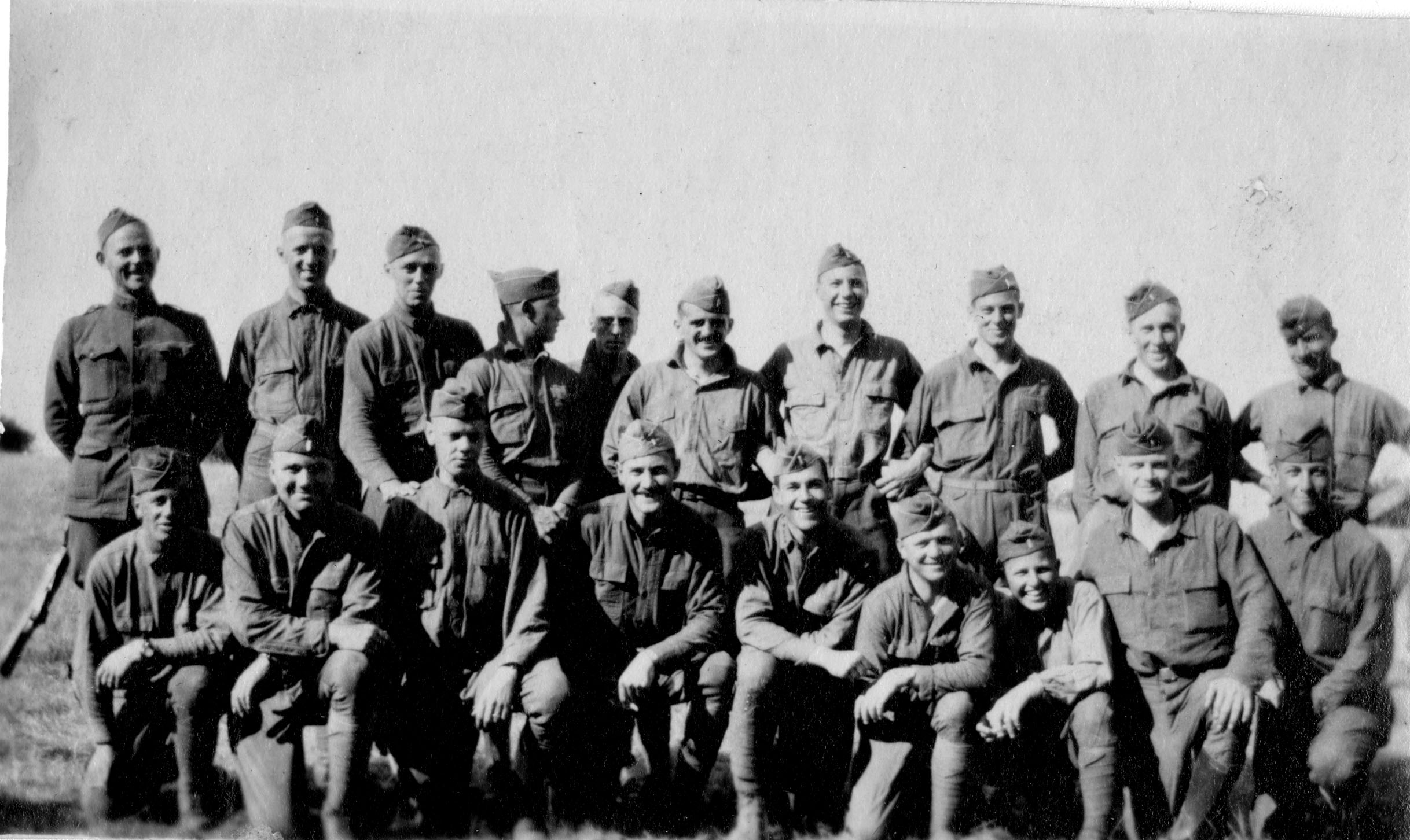 Group Photograph of Soldiers, circa 1918