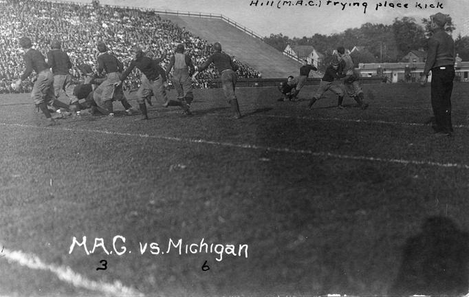 M.A.C. vs. University of Michigan football game