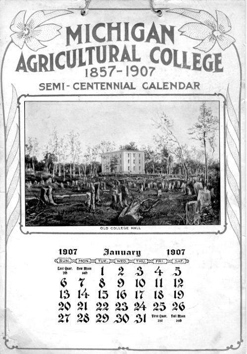 M.A.C. Calendars; 1912