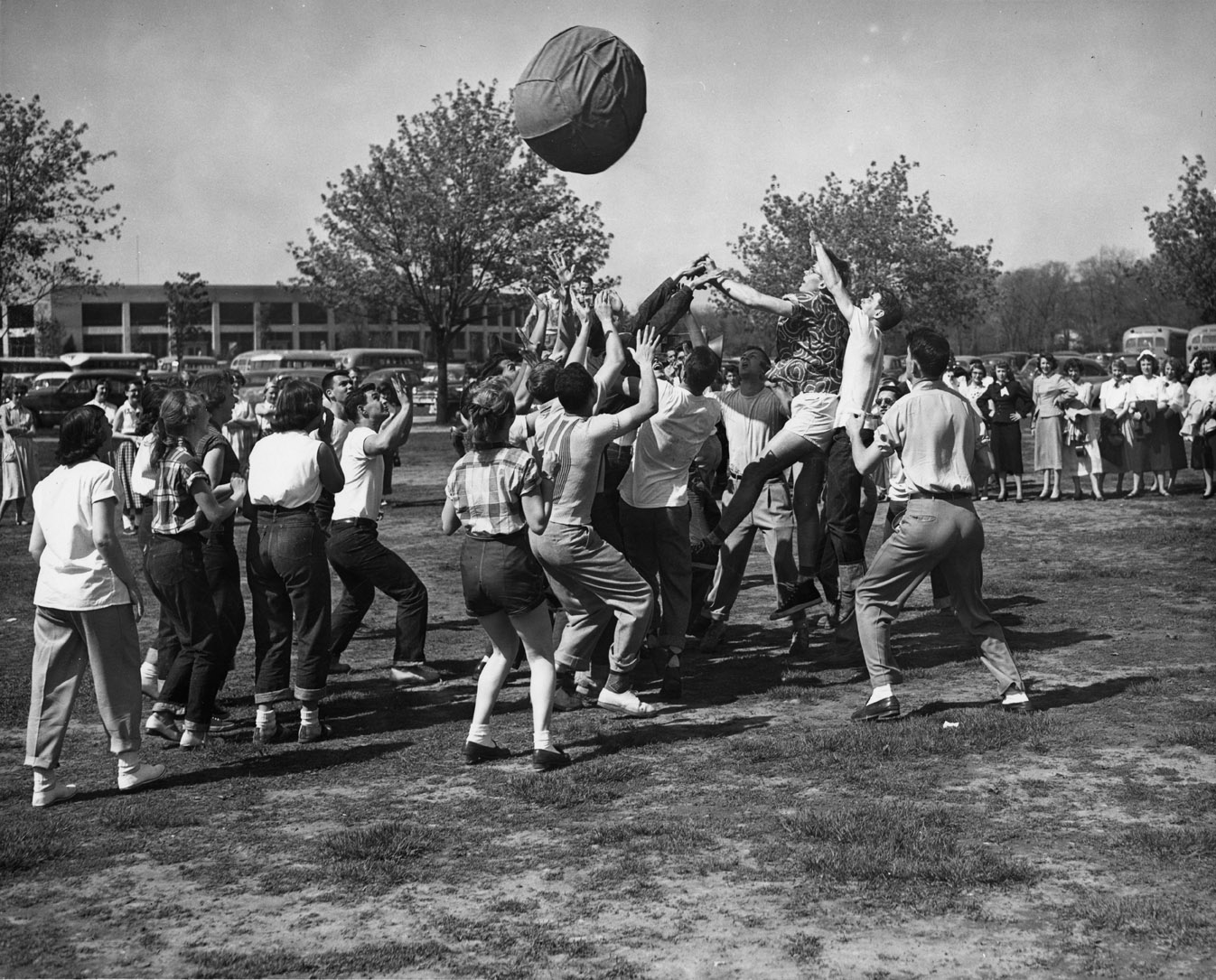 Games on the Lawn near the Stadium, undated