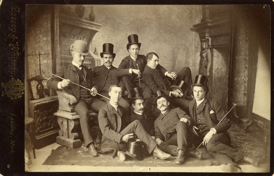 Class of 1886 Indoor Class Picture