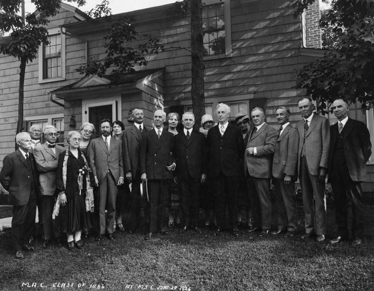 Class of 1886 40th Reunion, 1926