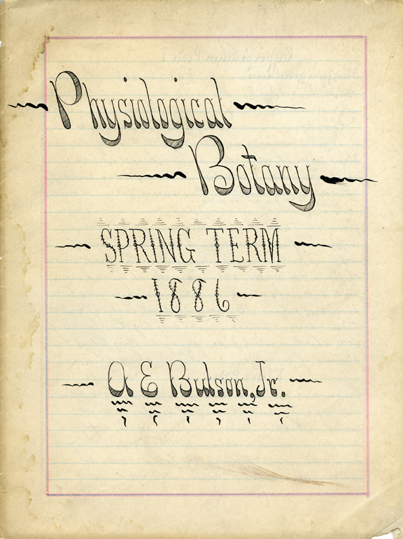 """Physiological Botany"", 1886"