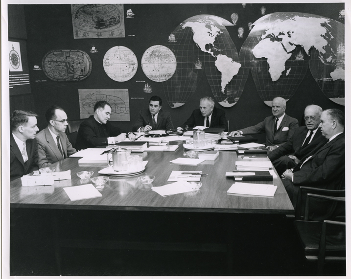 Civil Rights Commission meeting, August 1961