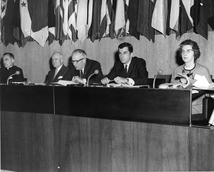 John Hannah at Commission on Civil Rights, undated
