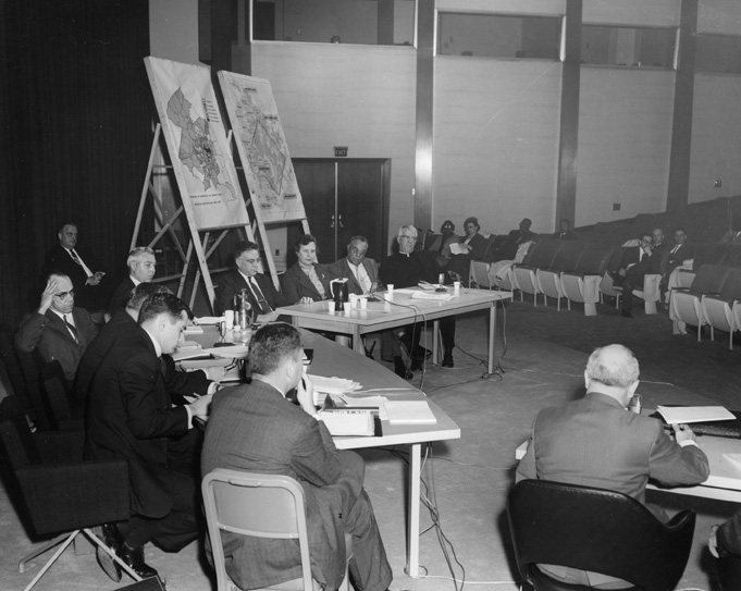Civil Rights Comission Meeting, undated