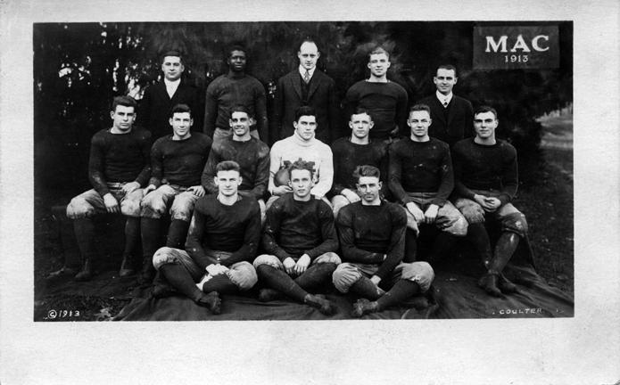 M.A.C. football team, 1913