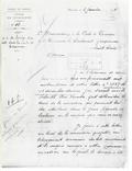 Letter from administrator Godel