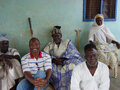 Kpembiwura Alhaji Ibrahim Haruna, his elders and Professor E. Akyeampong