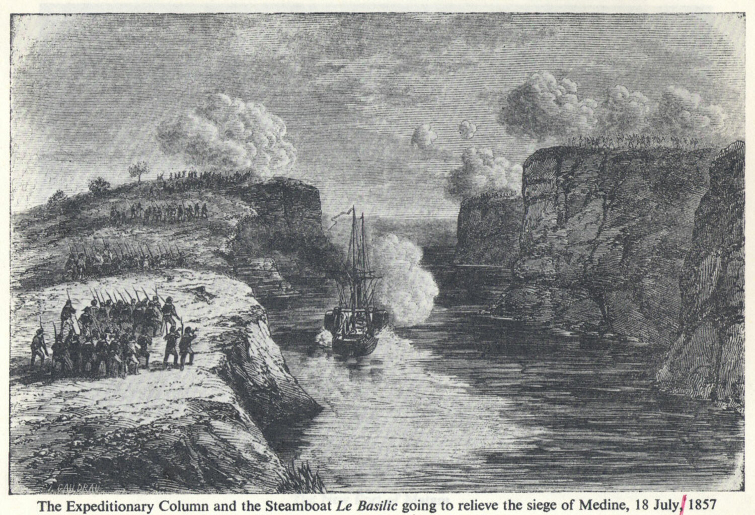 Boats rushing to rescue Medine