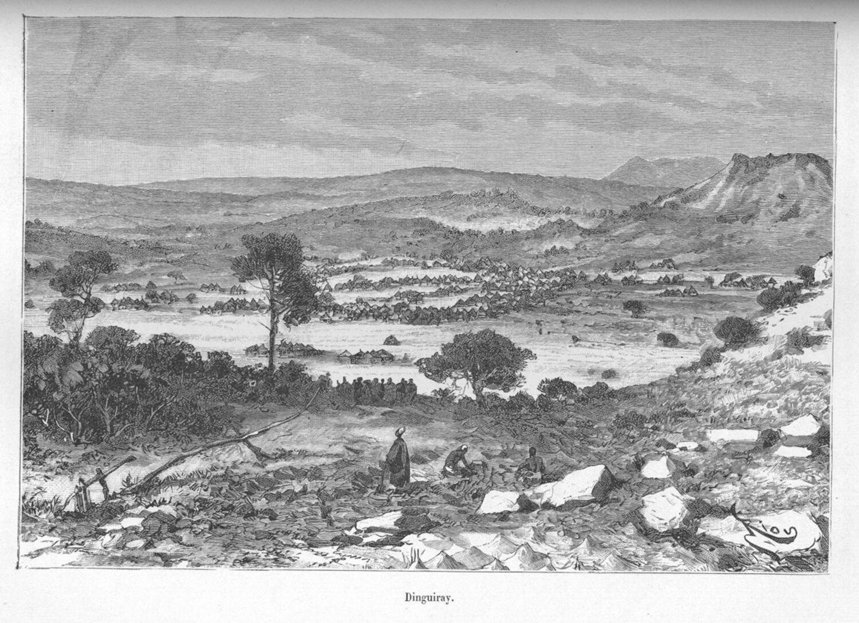 Dingiray, the first Umarian capital
