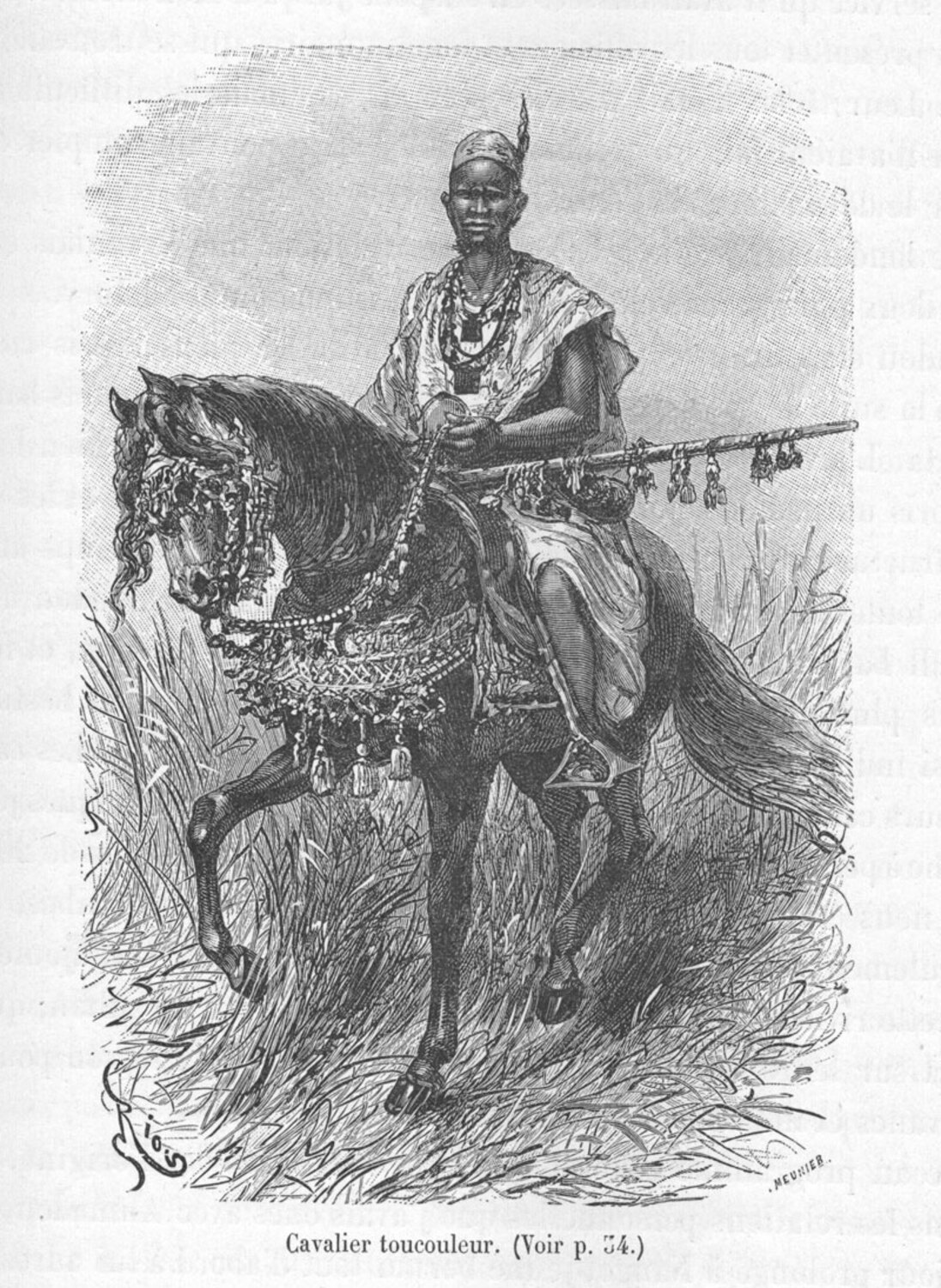 Umarian Horseman with Musket