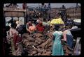 Orange hawker in yam wholesale market