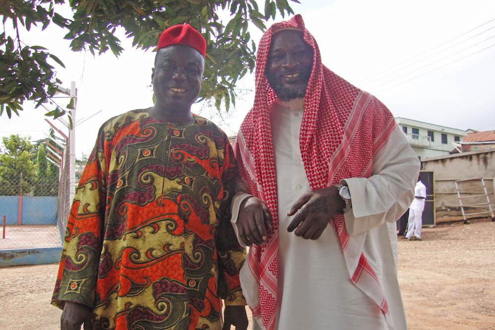 Two Men Friends