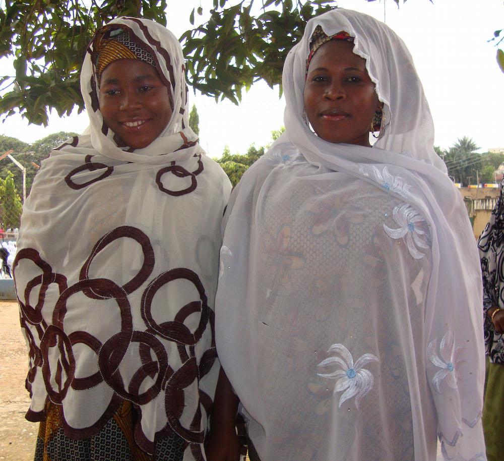 Veiled Young Women